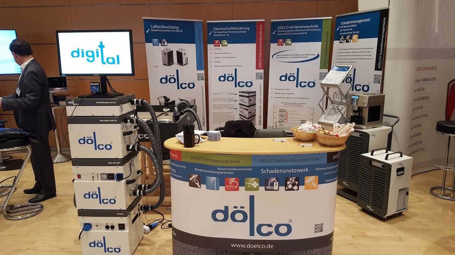 Messestand DÖLCO